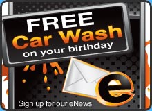 Free Carwash on Your Birthday