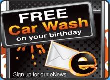 Free Carwash on Your Birthday